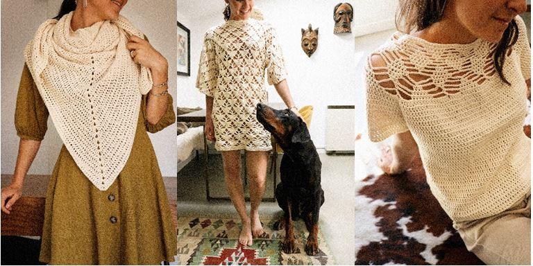 Wiosenne inspiracje: ręcznie robione ażury